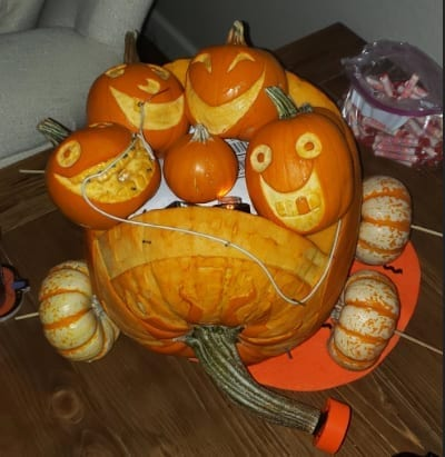 Gilbert Pumpkins Customer PIcture